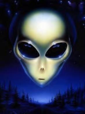 Resultado de imagen de postales de extraterrestres