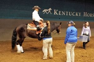 We were so glad that our students and horses were a part of the Nutrena USA Reining AQHA National Reining Horse Association Para-Reining event during the 2015 Rolex Kentucky Three-Day Event.