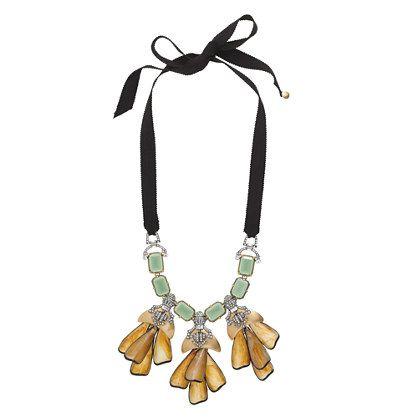 J.Crew - Petal droplet necklace... LOVE!!!!