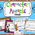 Looking for unique awards to give your students? Why not award your students based on the character traits they possess?   Also be sure to check ou...