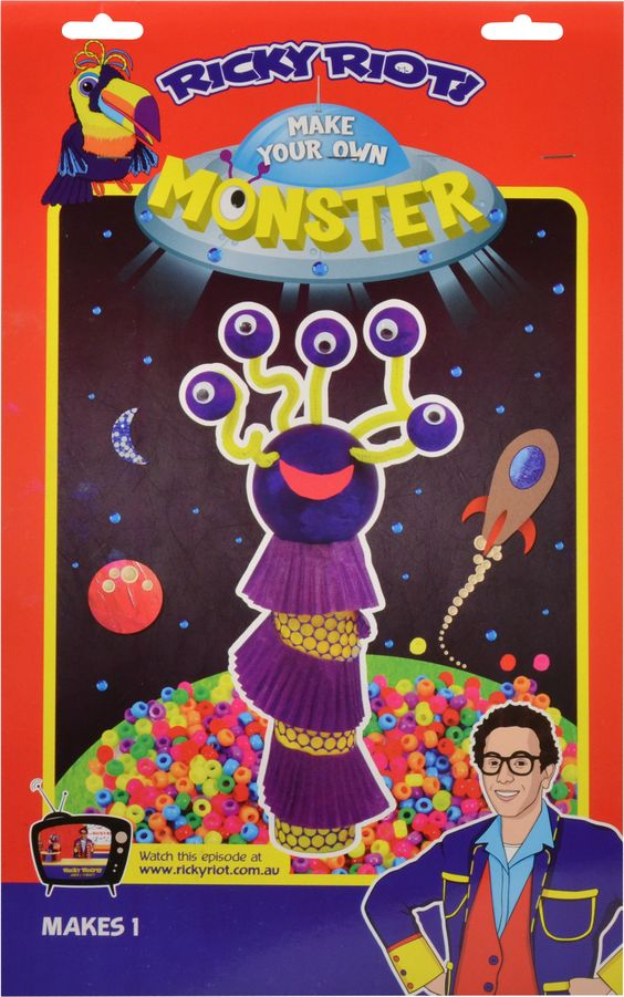 Make your own Moster! $4.99