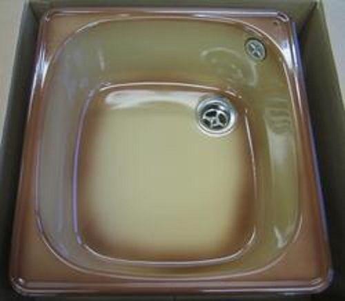 ALAPE Doppelbecken Doppel-Spüle GRAU   WEISS 92x50,5 cm - spülbecken küche günstig