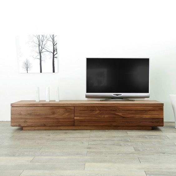 商品名 Nto 02 幅 200cm テレビ台 2m Tv台 日本製 木製 無垢 Tvボード ウォールナット