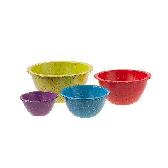 Set of 4 Confetti Mixing Bowls - Gordmans