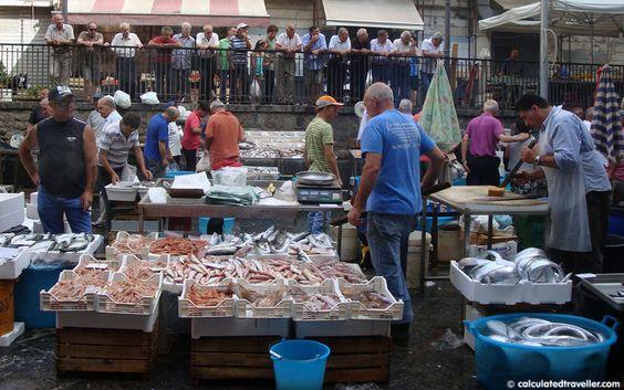 Catania's market in Piazza Carlo Alberto, Sicily, Italy and Fish Markets from Around the World – Photo Essay