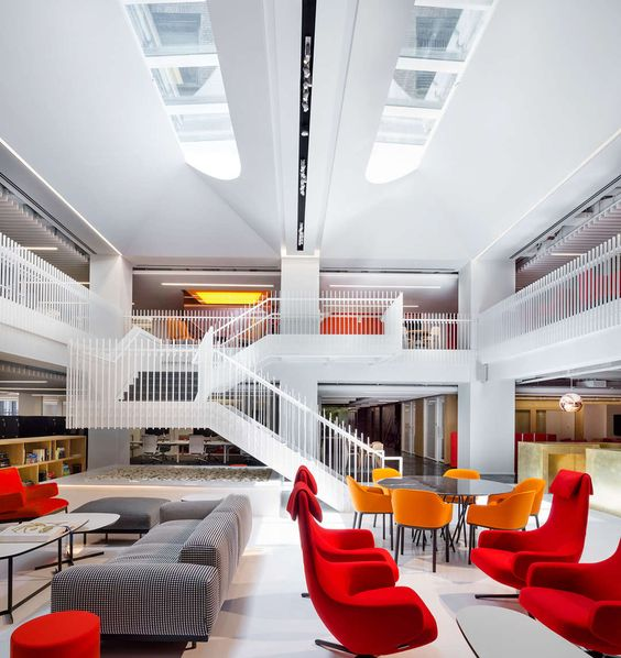 Working It Out: An Office Interior That Offers the Best of All Workplace Typologies - Architizer