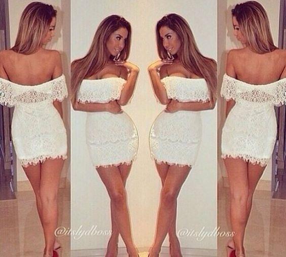 2014 heißer verkauf, großhandel exklusiven weißen hoch taillierte abgeschnitten outfit bodycon spitzenkleid