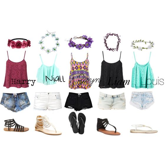 """Summer Day One Direction"" by amaya173 on Polyvore"