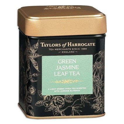 Taylors Green Jasmine Leaf Tea Caddy 125G