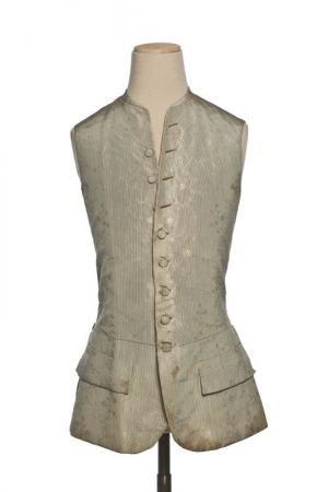 1750 French Waistcoat at the Musée de la Mode et du Textile, Paris