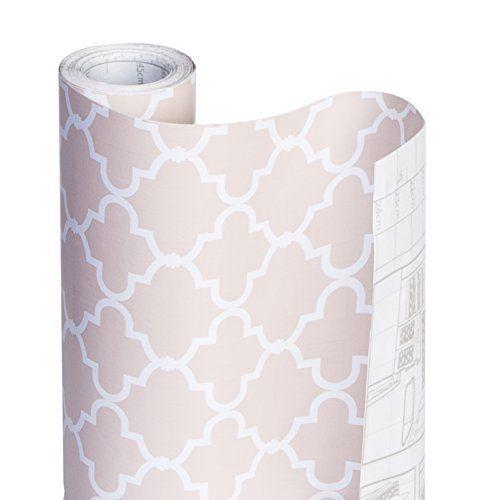 Dazz 8607402 Chantilly Blush Adhesive Decorative Shelf Liner Shelf Liner Adhesive Drawer And Shelf Liners