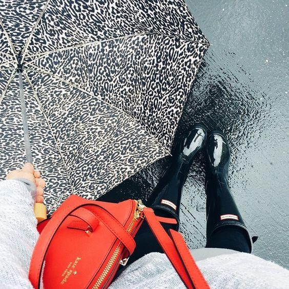 rain chic: