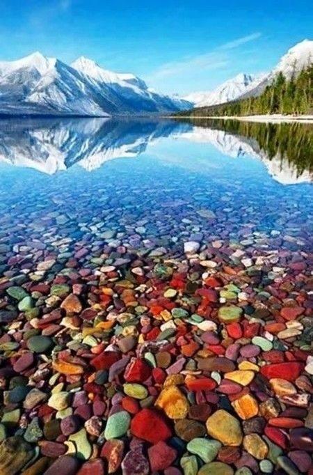 Estados Unidos :O :O :S Parque Nacional de los Glaciares, Montana. Lago McDonald