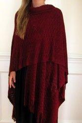 Love this ruana? pin it a customer favorite. http://www.yourselegantly.com/winter-shawls-ruana-wraps/ruana-cape-wraps.html