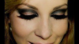 Maquiagem Super Noite, com Luciane Ferraes, via YouTube.