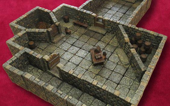 Dwarven Forge  https://www.kickstarter.com/projects/dwarvenforge/dwarven-forges-game-tiles-revolutionary-miniature