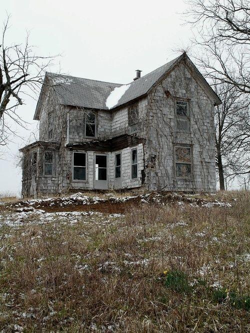 Kansas City Abandoned Farm Houses Old Abandoned Houses Abandoned Places