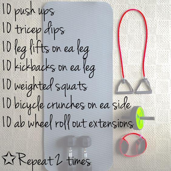Workout Wednesday Routine