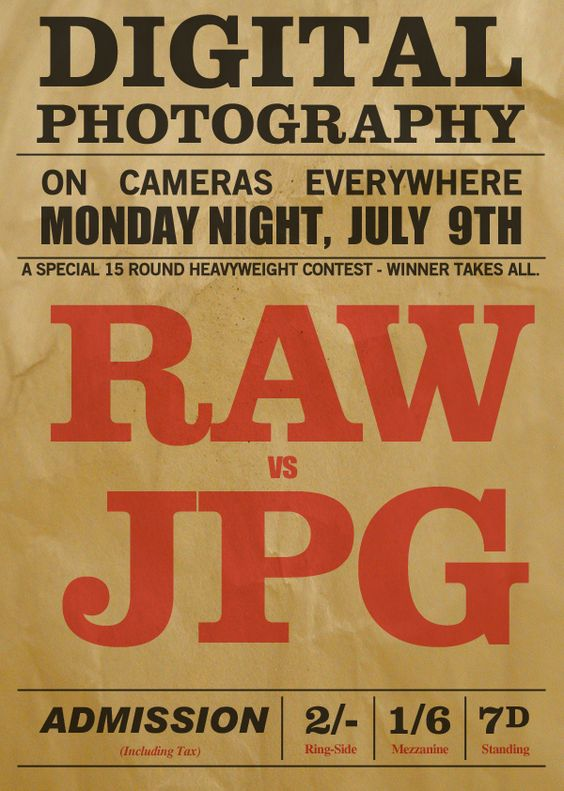 raw vs jpg - which to choose??? I don't know!