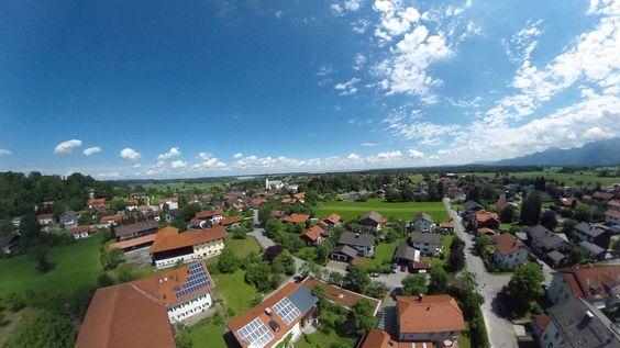 Luftaufnahme Zeitraumferien.de, Ferienwohnung in Bernau am Chiemsee