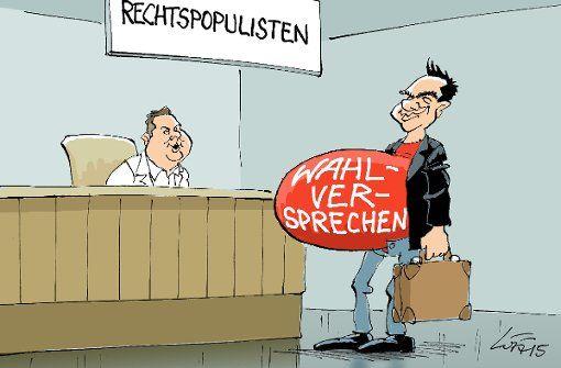 26. Januar 2015 (Luff): Guten Morgen Herr Tsipras, willkommen auf der Entbindungsstation! Foto: Luff