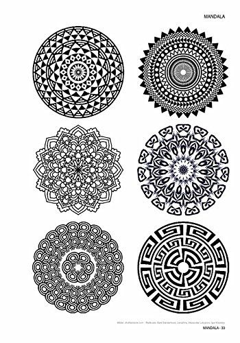 mandala volume 1 tattoo vorlagen buch kruhm. Black Bedroom Furniture Sets. Home Design Ideas