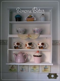 Two drawers become a shelf. Interesting idea!
