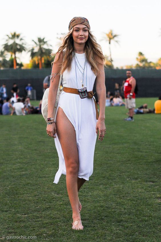 Gigi Hadid at Coachella 2015 Day 3: