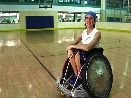 In this video segment adapted from Design Squad, U.S. Paralympic athlete and wheelchair rugby player Kerri Morgan asks the teams to build an automated wheelchair that simulates a defensive player on the attack. The teams use the engineering design process to create adaptive technologies. This resource is useful for introducing components of Engineering Design (ETS) from the Next Generation Science Standards (NGSS) to grades 6-12 students.