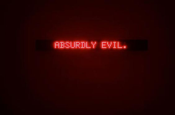 Jenny Holzer, Survival , 1989 electronic LED sign: red diodes 5.125 x ...