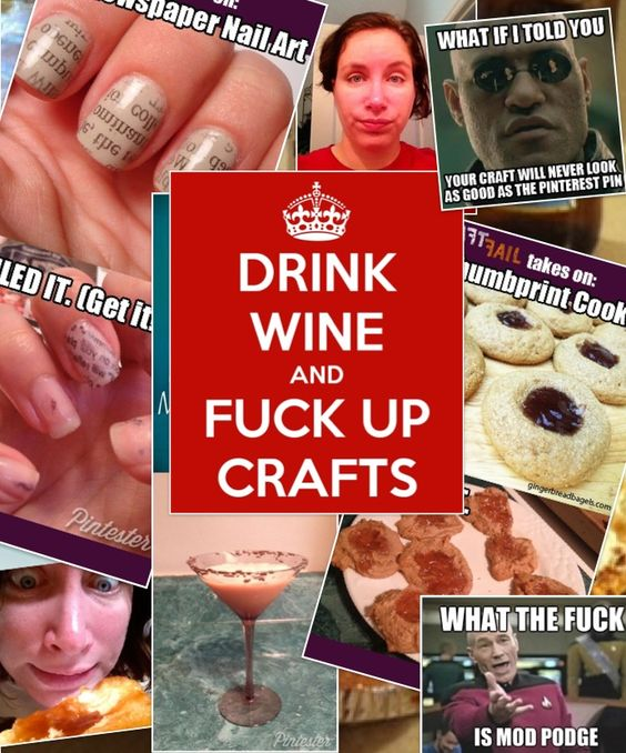 I make fucking up crafts an art.: Blogs Lists, Funny Stuff, Tests Pinterest, Hilarious, Funny Blogs, Tests Pins, Funny Pinterest Stuff
