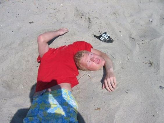 Death At The Beach Or just a prank. YOU DECIDE!