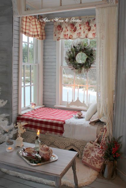 Hello everyone, Over the past few years this little nook in the Boathouse that my hus...