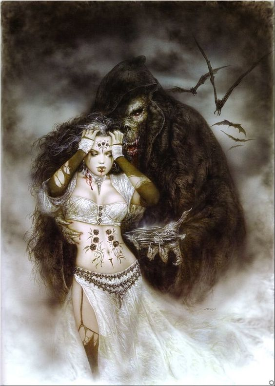 Luis Royo – Subversive Beauty (The Cross of the Night)