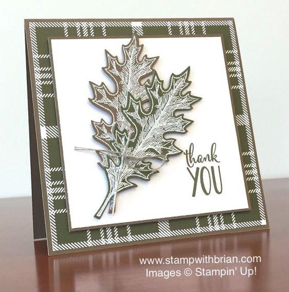 Vintage Leaves, Happy Happenings, Stampin' Up!, Brian King, PPA268: