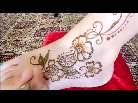 Imane Artisan Feet Mehndi Design Leg Henna Floral Arabic Fee Leg Henna Mehndi Designs Henna Hand Tattoo