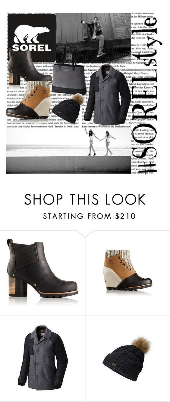 """""""Kick Up the Leaves (Stylishly) With SOREL: CONTEST ENTRY"""" by eliseemma ❤ liked on Polyvore featuring SOREL and sorelstyle"""