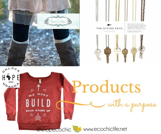 Friends doesn't it feel good to shop with purpose, shop local and enjoy what you purchased? That's why we are highlighting these 3 Products with a Purpose!