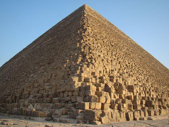 Pharaoh Khufu's Pyramid, Giza, Egypt