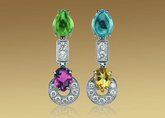 Resultado de imagen para peridot and rodolite jewelry