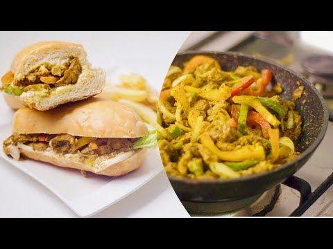 افخم ساندويش فاهيتا دجاج بطريقة و تتبيله روعه و صوص اروع Chicken Fajita Sandwiches Youtube Stuffed Peppers Chicken Fajitas Sandwich Ingredients