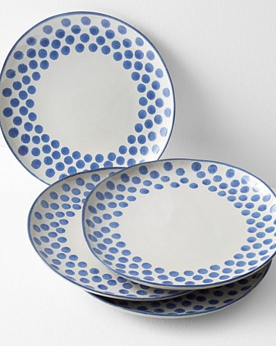 Painted Dots Ceramic Dinnerware Collection