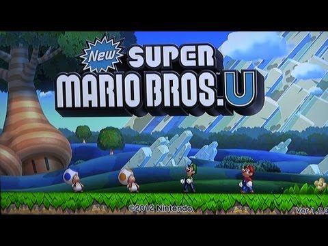 Super Mario Bros.U für Nintendo Wii U - スーパーマリオブラザーズ - 任天堂Wii U