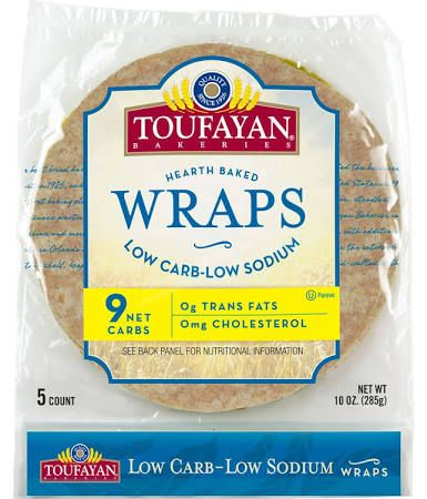 wraps low in sodium - Google Search