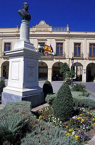 Ronda, Plaza de España y Parador (Hotel de lujo)