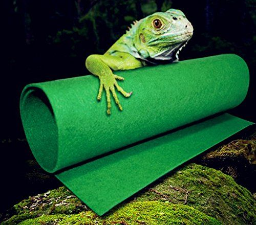 Reptiles Carpet Terrarium Liner Fmji Bearded Dragon Accessories Reptiles Cage Mat Substrate For Lizards Turtles Snakes Igu Reptile Carpet Reptile Cage Lizard