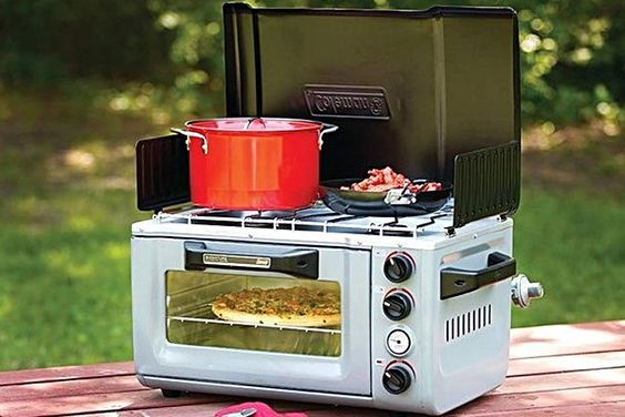 Coleman Outdoor Oven/Stove.  Let's go #camping. $250. This would make camping  Much easier for us older folks. LOL
