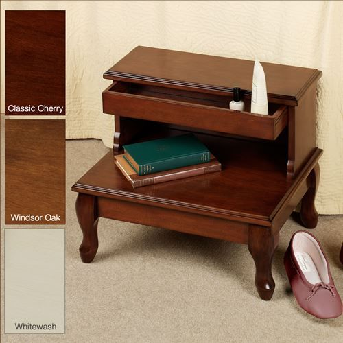 Cessilee Bed Steps With Storage Bed Steps Wooden Bed Bed Stairs