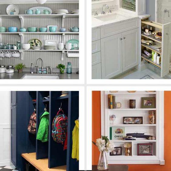 Storage Ideas Small Space Storage And Storage On Pinterest