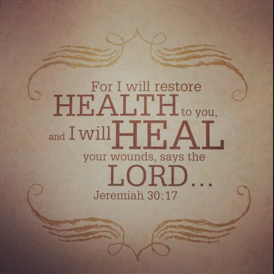 Image result for jeremiah 30:17